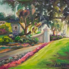 Presidio Landscape Painting by Concetta Antico