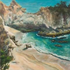 Big Sur - Rocky Coast Seascape by Concetta Antico