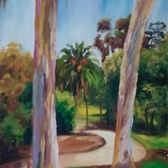 Palm Tree Path Landscape - Concetta Antico