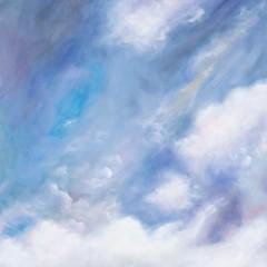 Sky Landscape Painting - Tetrachromat Artist Concetta Antico