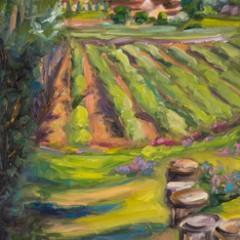 Provence Painting - Tetrachromat Artist Concetta Antico