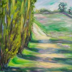Landscape Painting Julian, CA - Concetta Antico