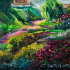 Landscape by Tetrachromat Artist Concetta Antico