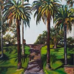 Botanical Gardens Sydney Oil Painting - Concetta Antico