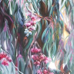 Ironbark Eucalyptus Plant Painting - Concetta Antico