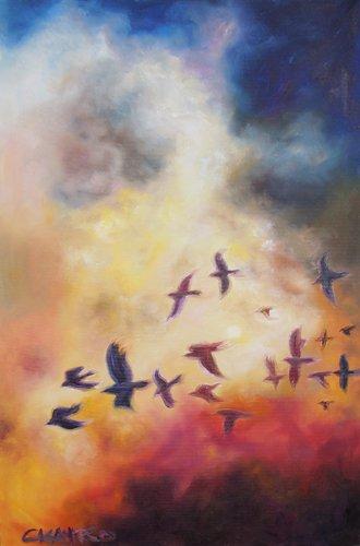 Spirited On Raven Wings