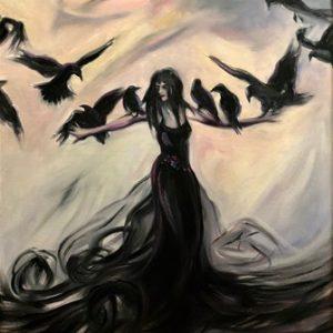 The Ritual Romance of the Raven Goddess