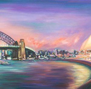 World Famous Panorama, Sydney Harbour, Australia